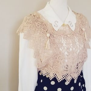 Japanese Brand Mother Lace vest♡